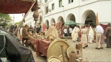 El rodaje en Tetuán y los figurantes marroquís