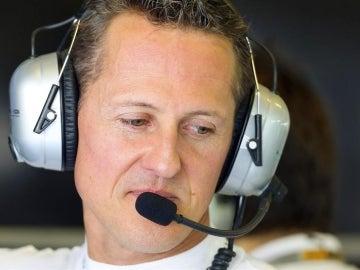 El expiloto de Fórmula 1 Michael Schumacher