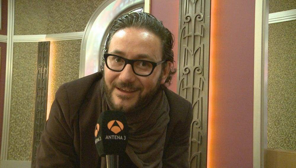 Carlos Santos en la rueda de prensa de 'Bienvenidos al Lolita'