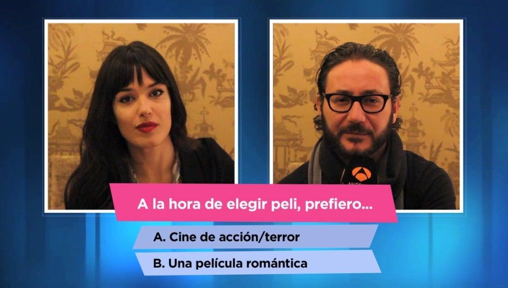 Sara Vega y Carlos Santos se someten al test de compatibilidad
