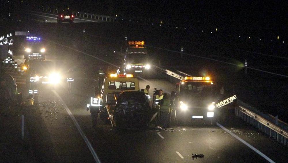 Accidente de tráfico en la A-41, en Ciudad Real