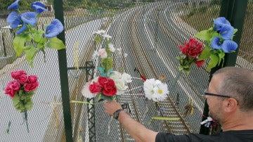 Homenaje a las víctimas del tren Alvia