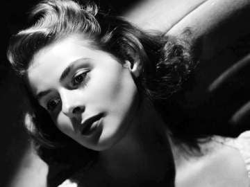 3º aniversario de la actriz Ingrid Bergman