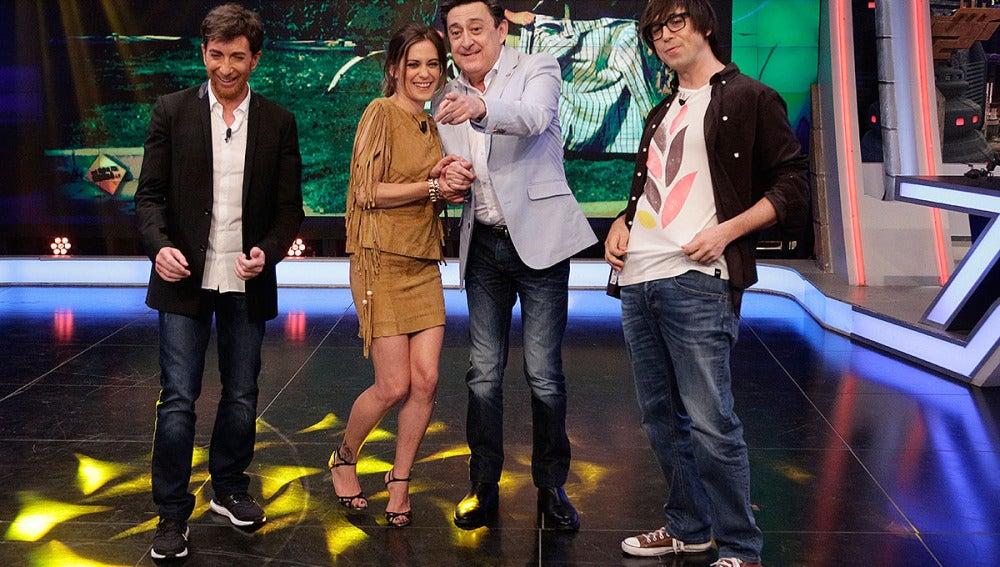 María León, Mariano Peña y Luis Piedrahita en El Hormiguero 3.0