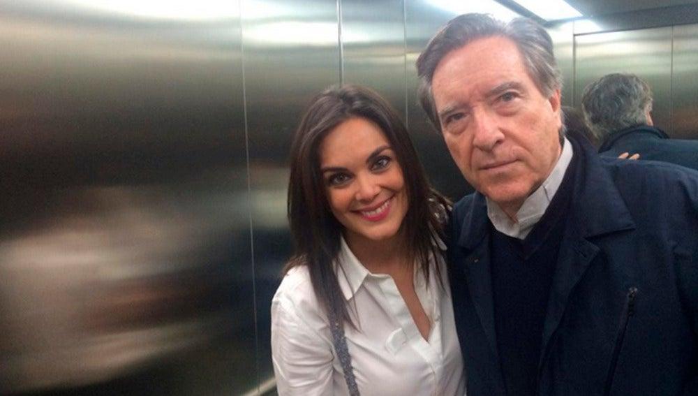 Mónica Carrillo con Iñaki Gabilondo en iRedes