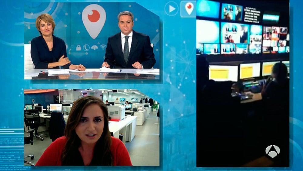 Periscope, en Antena 3 Noticias