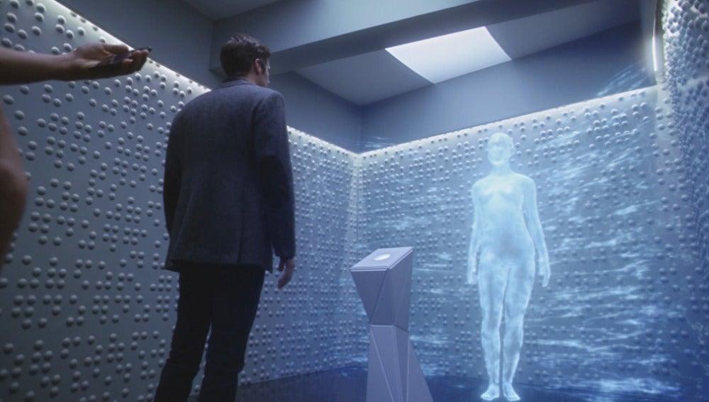 Gideon, la conciencia interactiva artificial de Harrison Wells