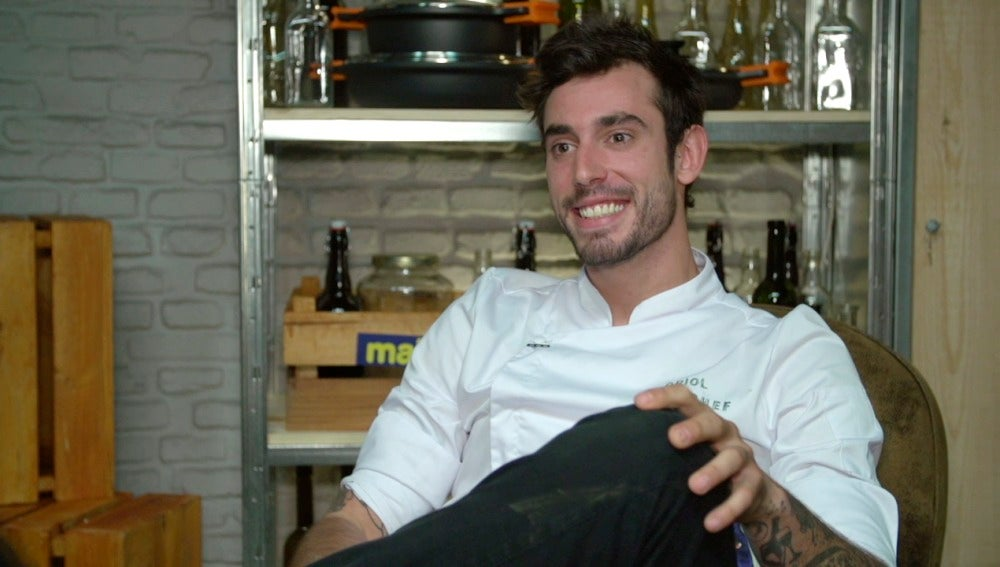 Oriol, concursante de Top Chef 3