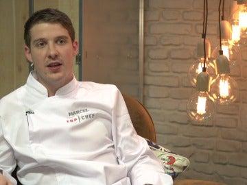 Marcel, concursante de Top Chef 3