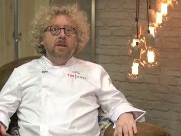Luca, concursante de Top Chef 3