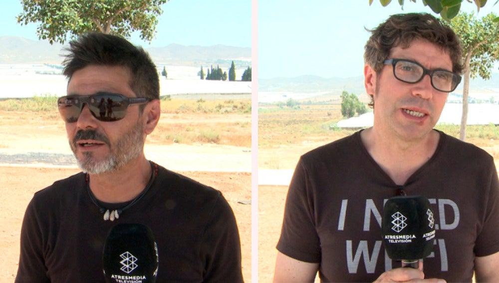 Manuel Ludeña y Norberto López