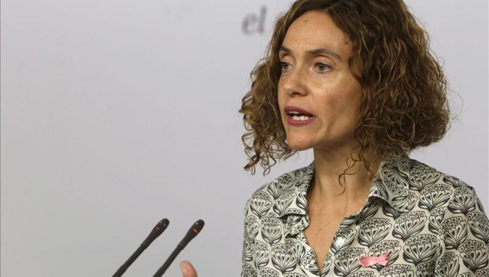 La secretaria de Estudios y Programas del PSOE, Meritxell Batet