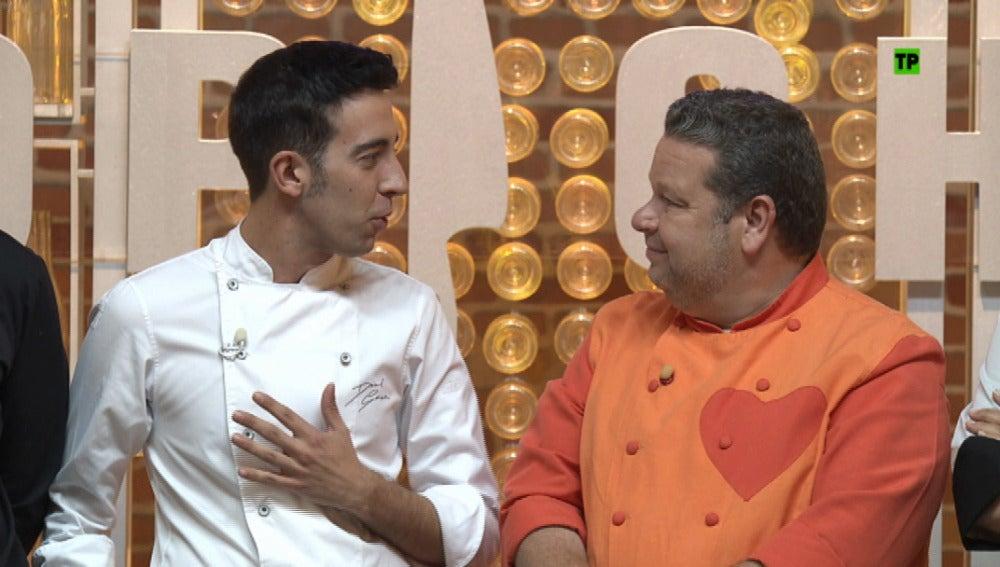 David García, ganador de la segunda edición, regresa a las cocinas de 'Top Chef'