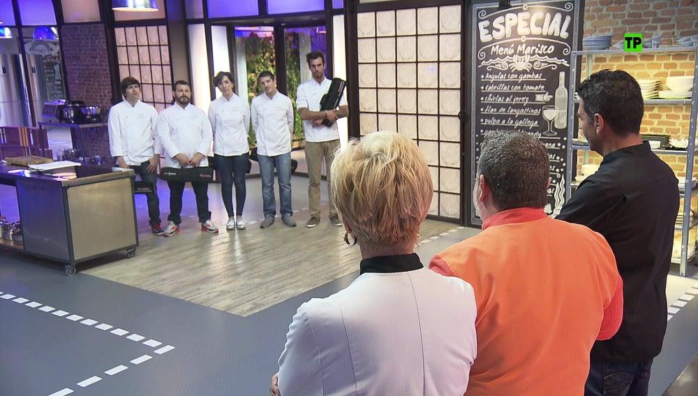 El jurado de 'Top Chef' afila los cuchillos para poner en un aprieto a los concursantes