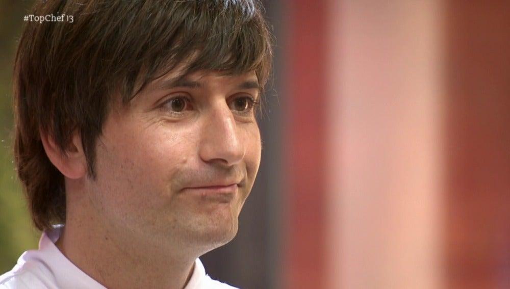 Sergio se queda a las puertas y rompe a llorar en su salida de 'Top Chef'