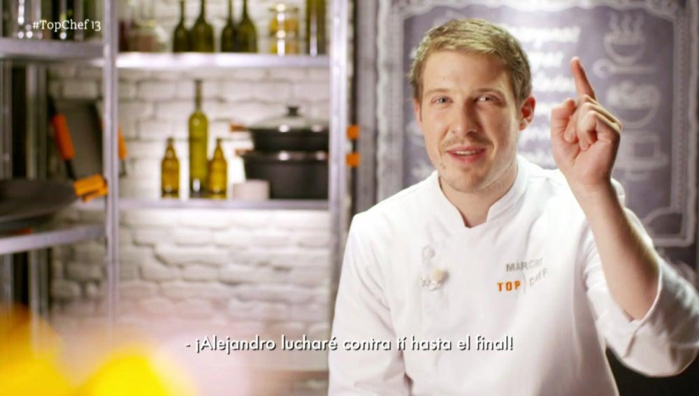 Marcel gana la prueba de fuego con un plato que enamora al jurado