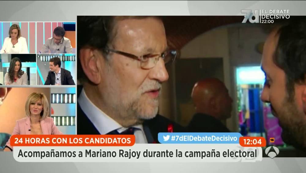 Mariano Rajoy en 'Espejo Público'