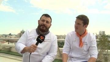 """Alejandro y Marcel: """"La final va a estar muy reñida, ¡que gane el mejor!"""""""