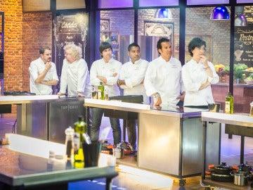 Las alcachofas decidieron qué cocineros eran pinches en la final