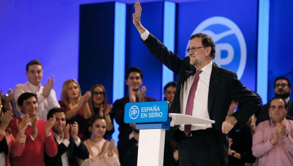 Rajoy cierra campaña en Madrid