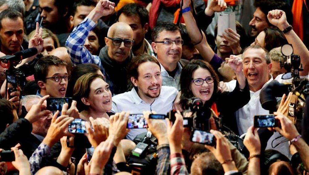 Cierre de campaña de Podemos en Valencia
