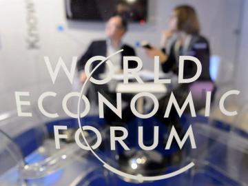Logo del Foro Económico Mundial de Davos