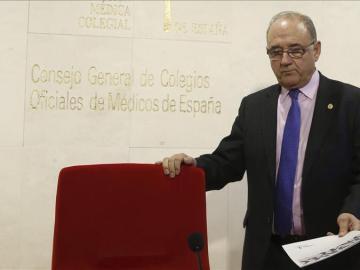 El presidente de la Organización Médica Colegial (OMC), Juan José Rodríguez Sendín