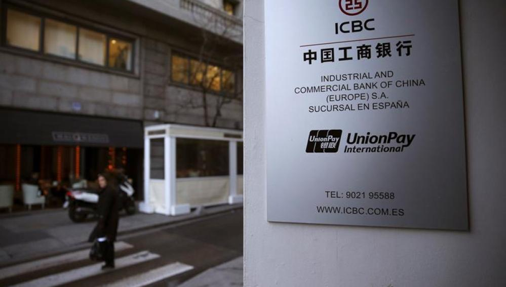 Sede en Madrid del banco chino ICBC