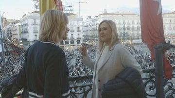 """Cristina Cifuentes: """"Soy republicana, pero tenemos una monarquía consolidada y hay que preservarla"""""""