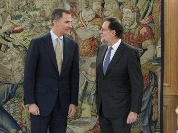 Rajoy cierra la ronda de consultas de Felipe VI