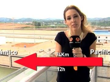 Un equipo de Antena 3 visita la mayor obra de ingeniería civil del siglo, el nuevo Canal de Panamá
