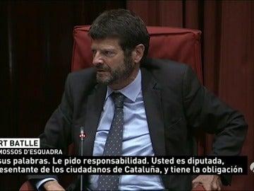 El director de los Mossos defiende su actuación en los disturbios de Gràcia