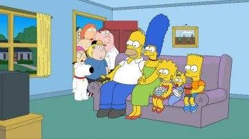 Los Simpson vs Padre de familia
