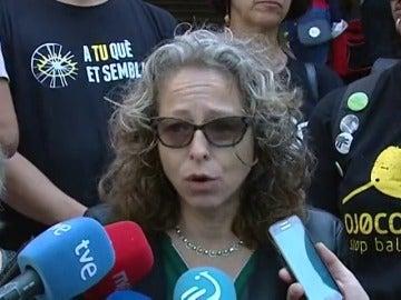 Absueltos los dos mossos acusados de dejar sin ojo a Ester Quintana con una pelota de goma en 2012