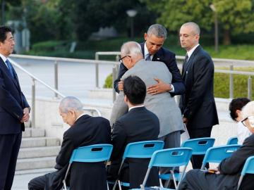 """Obama: """"La bomba atómica de Hiroshima cambió el mundo"""""""