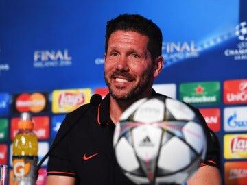 """Simeone: """"Sólo me haría feliz ganar la final"""""""