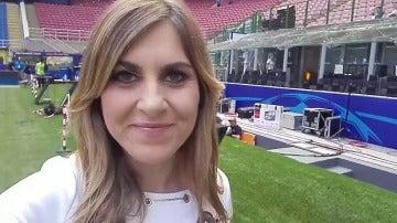Susana Guasch nos muestra San Siro, el escenario de la final de la Champions Total