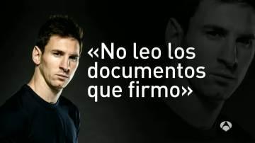 """Leo Messi, ante su juicio por presunto fraude fiscal: """"No leo los documentos que firmo"""""""
