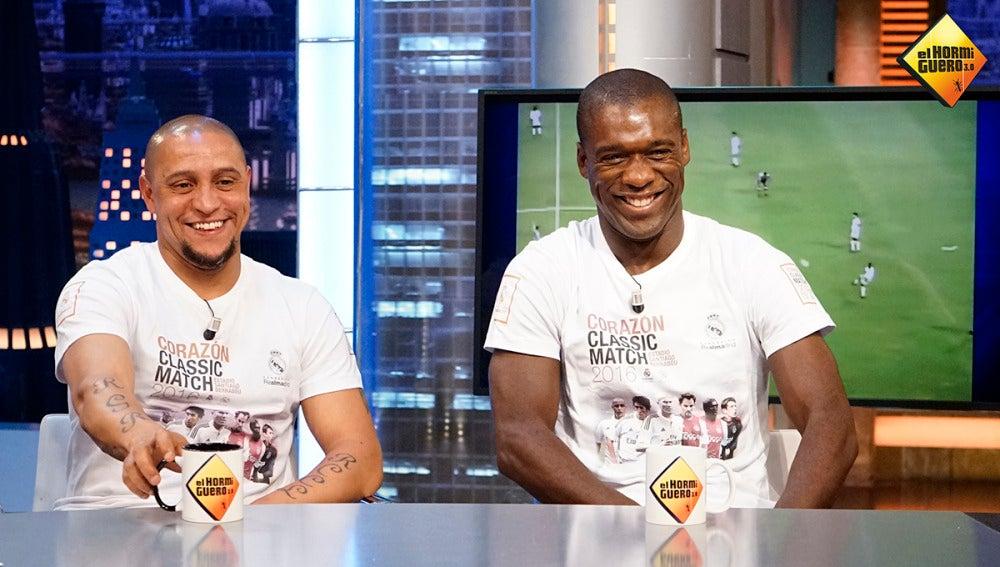 """Roberto Carlos a Pablo Motos: """"¿De qué equipo eres?"""""""