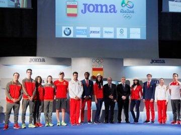El uniforme de nuestros futuros campeones olímpicos