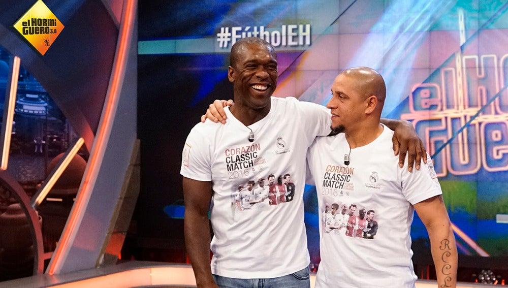 """Roberto Carlos """"rompe a llorar"""" al hablar de su amigo Seedorf"""