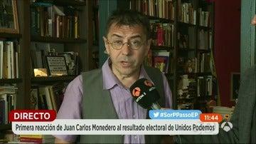 """Monedero dice que Unidos Podemos ha hecho una campaña """"errónea"""", primando el marketing sobre el contenido"""