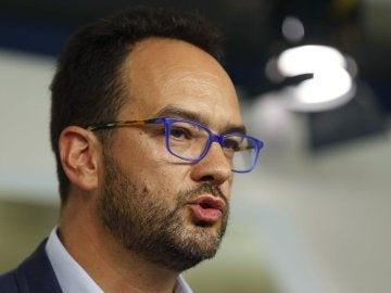El portavoz del comité electoral del PSOE, Antonio Hernando.