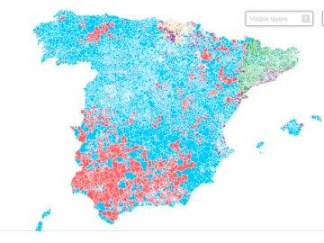 Mapa por municipios