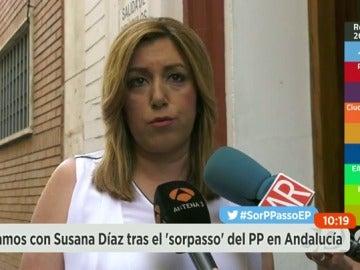 """Susana Díaz: """"Hay que reconstruir al PSOE y ponernos en condiciones de ganar"""""""