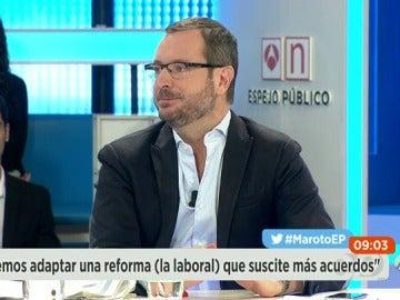 """Javier Maroto: """"Haría un acuerdo con el PSOE y Ciudadanos para cargarnos el populismo de Podemos"""""""