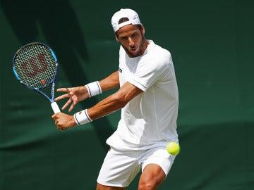 Feliciano López, a segunda ronda de Wimbledon