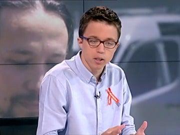 """Errejón discrepa de Iglesias y considera que habrá que evaluar la alianza con IU porque """"no ha funcionado"""""""