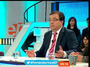 """Fernández Vara """"no contempla"""" otra fórmula que """"la mínima abstención a última hora"""""""