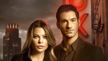 Chloe Decker y Lucifer Morningstar